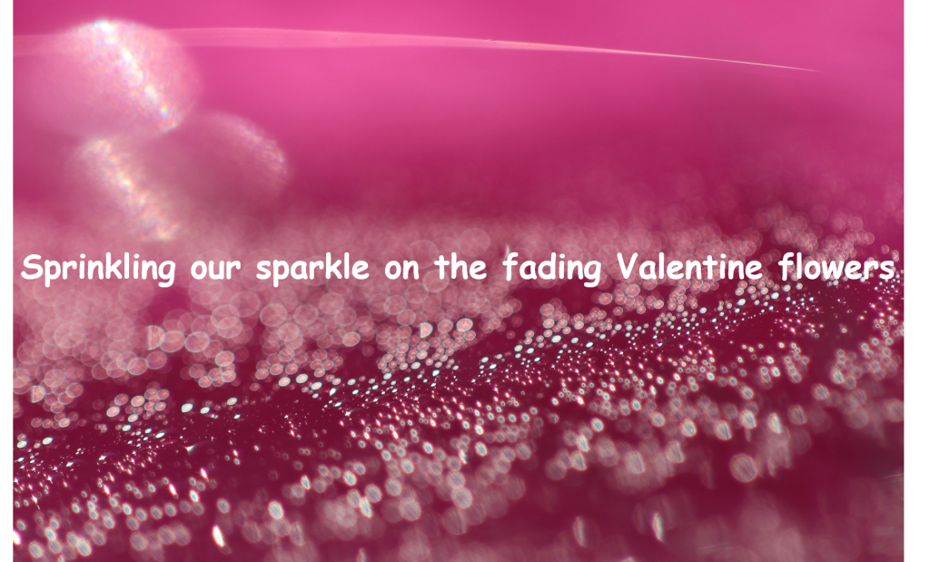 Sprinkling our sparkle