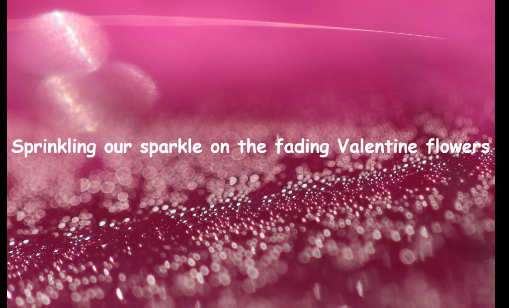 Sprinkling our sparkle